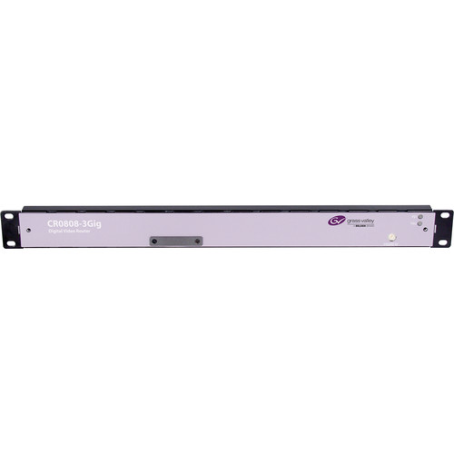 Grass Valley NVISION 1 RU 8x8 HD SWB Serial Digital Video Router (Non-Reclocked)