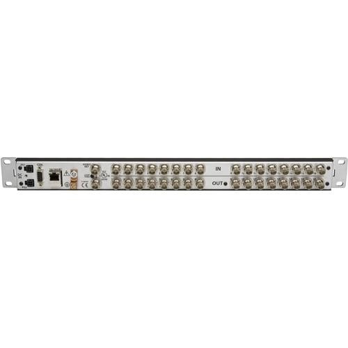 Grass Valley NVISION 1 RU 16x4 SD Digital Video Router