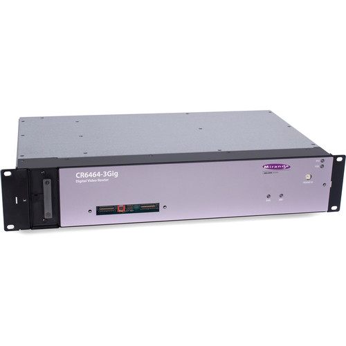 Grass Valley NVISION CR6400 Digital Audio Router