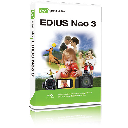 Grass Valley EDIUS Neo 3.2 NLE (Download)