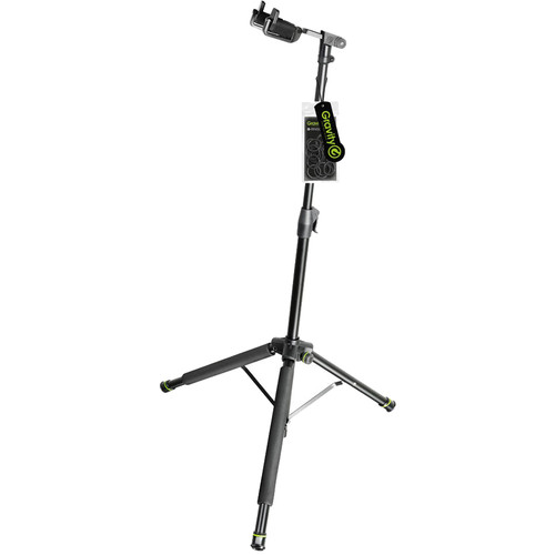 Gravity Stands Foldable Guitar Stand with Neck-Hug Technology