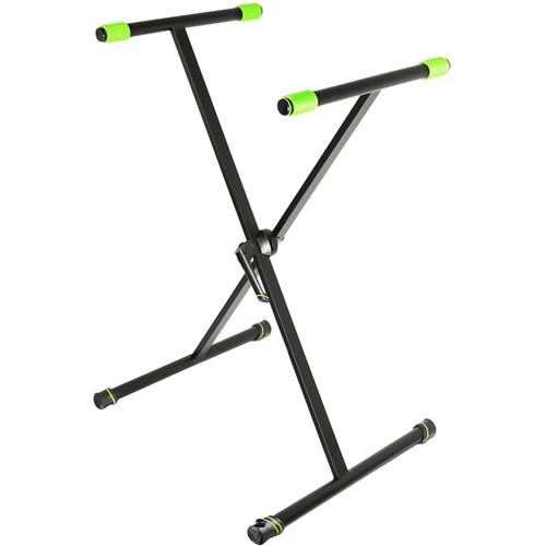 Gravity Stands KSX 1 X-Form Single-Braced Keyboard Stand (Black)