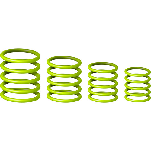 Gravity Stands Universal Gravity Ring Pack, Sheen Green