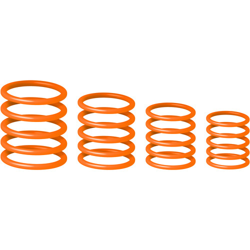 Gravity Stands Universal Gravity Ring Pack, Electric Orange