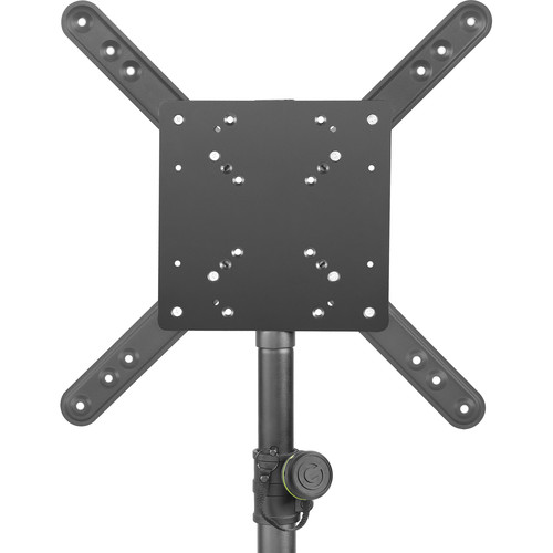 Gravity Stands 35mm Pole Mount LCD Monitor Bracket with 7 VESA Hole Patterns
