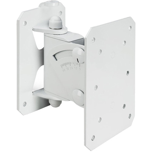 Gravity Stands SP WMBS 20 W Tilt-and-Swivel Wall Mount for Speakers up to 44 lb (White)