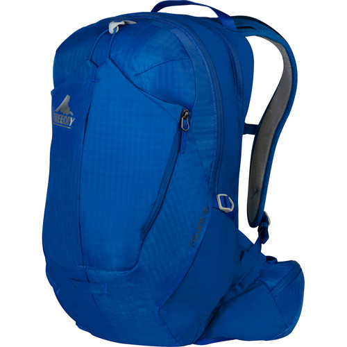 Gregory Miwok 18 Compact Backpack (18 L, Mistral Blue)