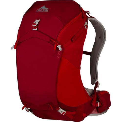 Gregory Mens Z 30 Medium Backpack (30 L, Spark Red)