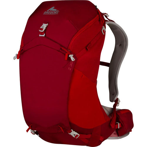 Gregory Mens Z 30 Large Backpack (32 L, Spark Red)
