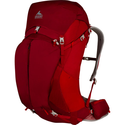 Gregory Mens Z 55 Small Backpack (53 L, Spark Red)