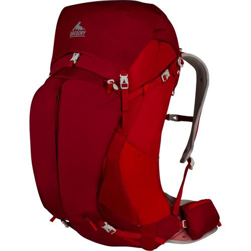 Gregory Mens Z 55 Medium Backpack (55 L, Spark Red)