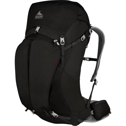 Gregory Mens Z 55 Small Backpack (53 L, Storm Black)
