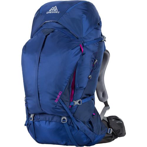 Gregory Women's Deva 60 Medium Backpack (64 L, Blue)