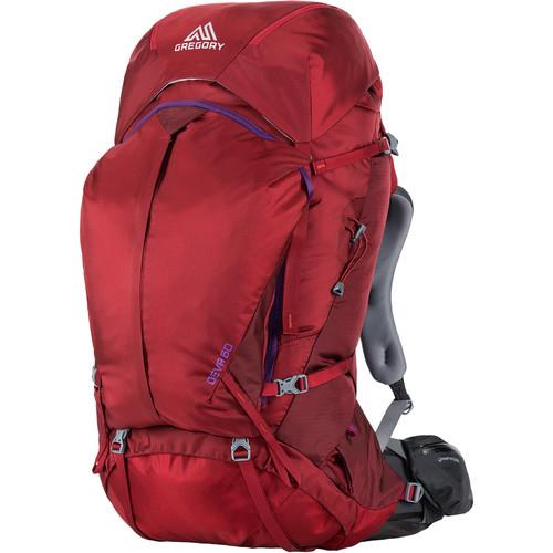 Gregory Women's Deva 60 Medium Backpack (64 L, Red)
