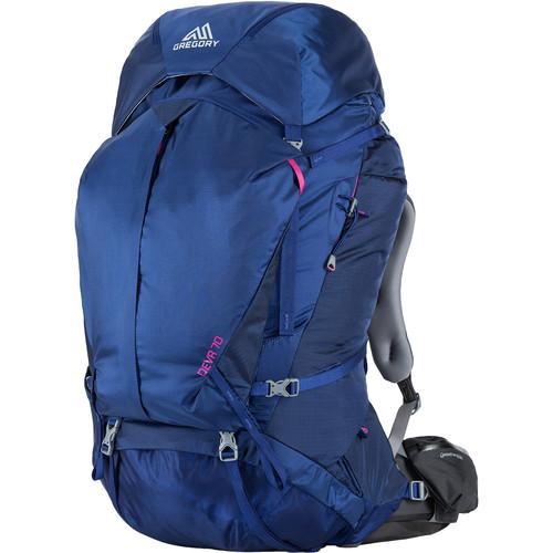 Gregory Women's Deva 70 Medium Backpack (74L, Blue)