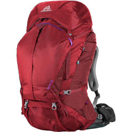 Gregory Women's Deva 70 X-Small Backpack (66L, Red)