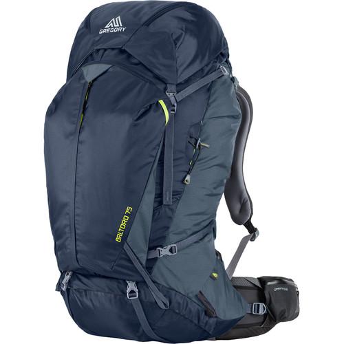 Gregory Men's Baltoro 75L Large Backpack (Navy Blue)