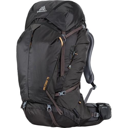 Gregory Men's Baltoro 75L Small Backpack (Shadow Black)