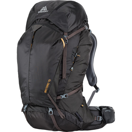 Gregory Men's Baltoro 65L Small Backpack (Shadow Black)