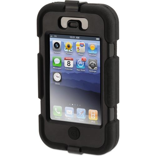Griffin Technology Survivor Custom Case for iPhone 4/4S (Black Case / Black Edges)