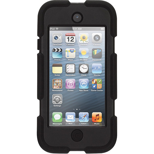 Griffin Technology Survivor All-Terrain Case for 5th and 6th Generation iPod touch (Black)