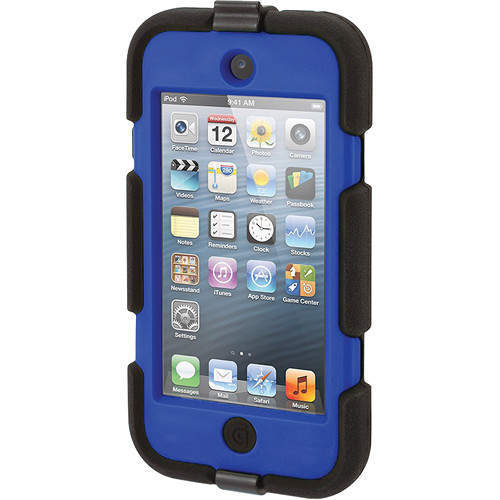 Griffin Technology Survivor All-Terrain Case for 5th and 6th Generation iPod touch (Black and Blue)