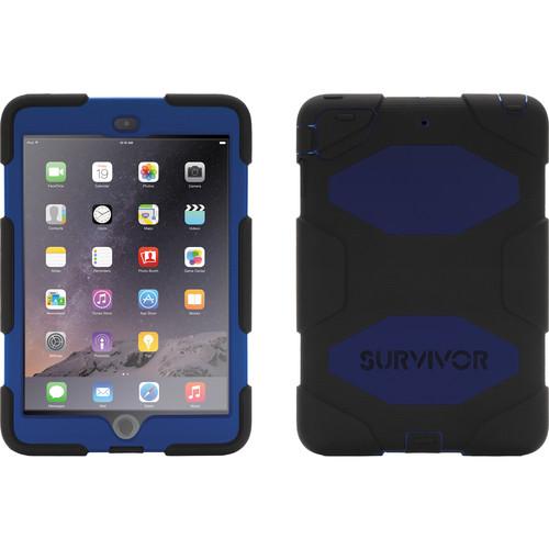 Griffin Technology Survivor Case for iPad mini, iPad mini 2, & iPad mini 3 (Black / Blue)