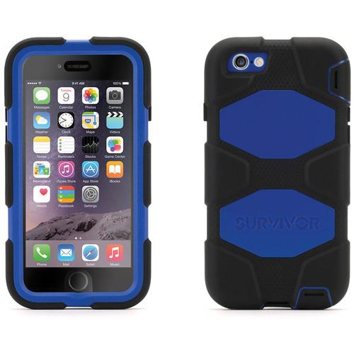 Griffin Technology Survivor All-Terrain Case for iPhone 6/6s (Black/Blue)