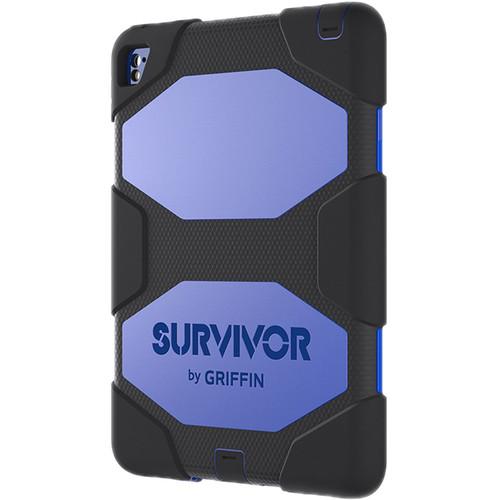 "Griffin Technology Survivor All-Terrain Case for iPad Air 2/Pro 9.7"" (Black/Blue)"