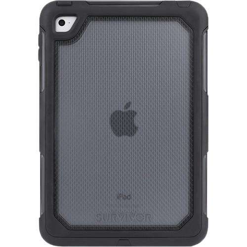 Griffin Technology Survivor Extreme Case for iPad mini 4 (Black/Clear)