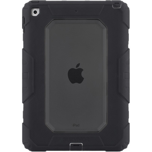 "Griffin Technology Survivor All-Terrain Case for iPad 9.7"" (Smoke/Black)"