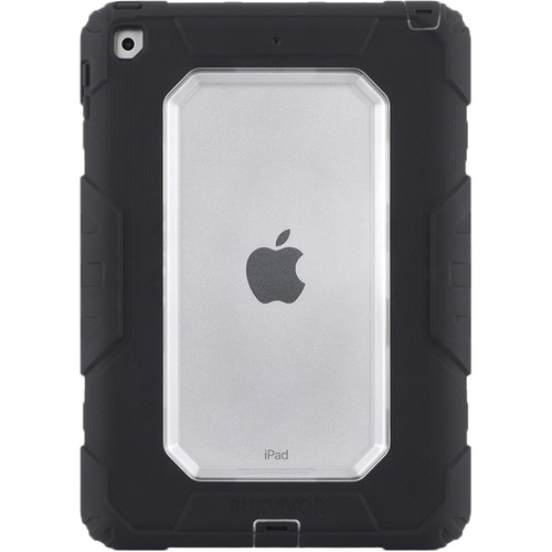 "Griffin Technology Survivor All-Terrain Case for iPad 9.7"" (Black/Clear)"