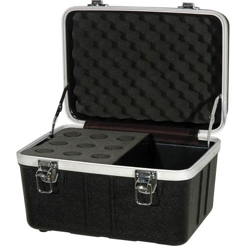 Grundorf ABS Series Microphone Case (9 Microphones)
