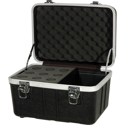 Grundorf ABS Series Microphone Case (9 Microphones)