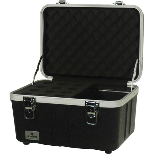 Grundorf ABS Series Microphone Case (12 Microphones)