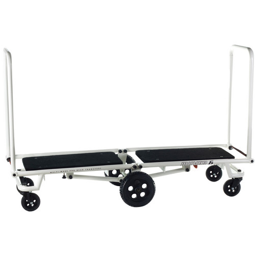 Gruv Gear MUVER 6 Longbed Cart (White)