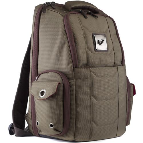 Gruv Gear Club Bag Flight-Smart Tech Backpack (Elite, Pewter/Crimson)