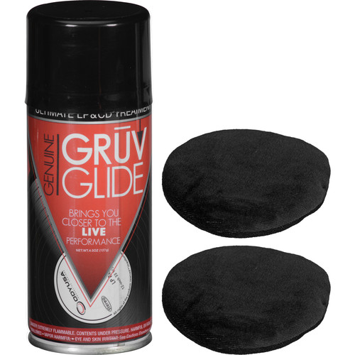 GruvGlide LP and CD Cleaning and Treatment Kit