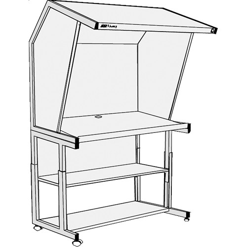 GTI CVX-3052/FS Color Viewing Station with Floor Stand