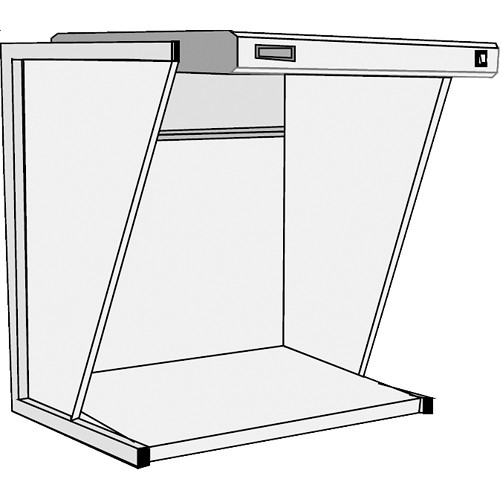 GTI EVS-2540/SW Executive Viewing Station with Side Walls