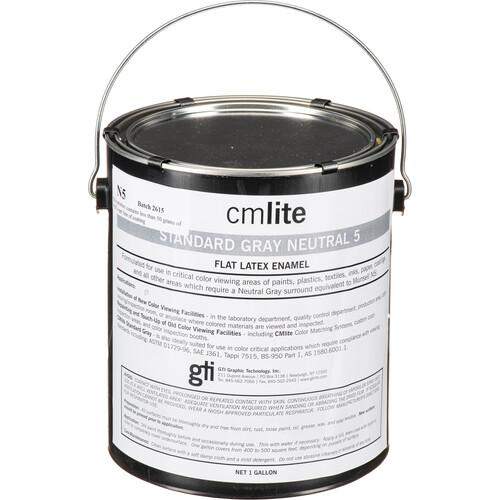 GTI Standard Gray Neutral N5 Vinyl Latex Paint (1-Gallon)