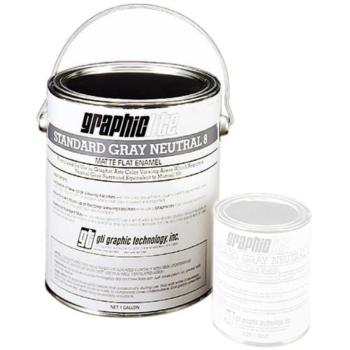 GTI Standard Gray Neutral N7 Vinyl Latex Paint (1 Gallon)