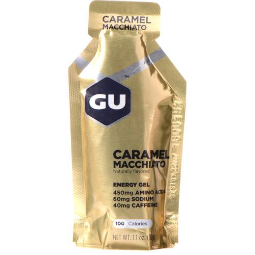 GU Energy Labs Gel (24-Pack, Caramel Machiato)