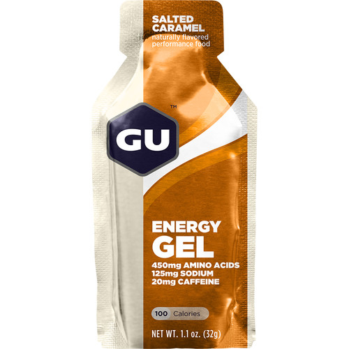 GU Energy Labs Gel (8-Pack, Salted Caramel)