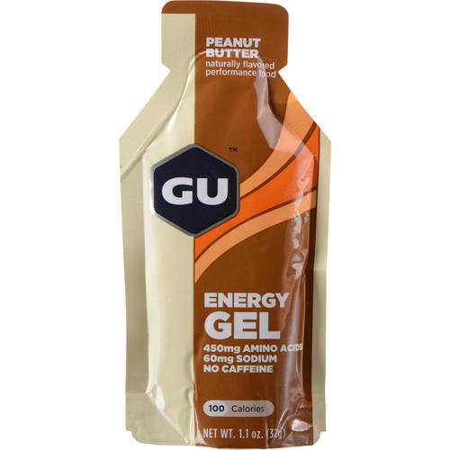 GU Energy Labs Gel (24-Pack, Peanut Butter)