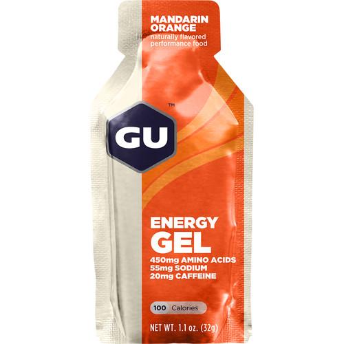 GU Energy Labs Gel (24-Pack, Mandarin Orange)