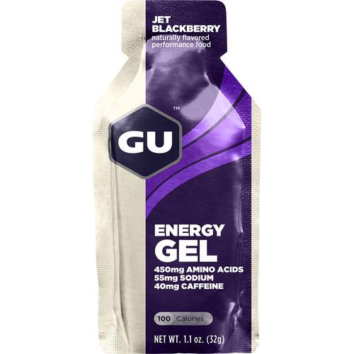 GU Energy Labs Gel (24-Pack, Jet Blackberry)
