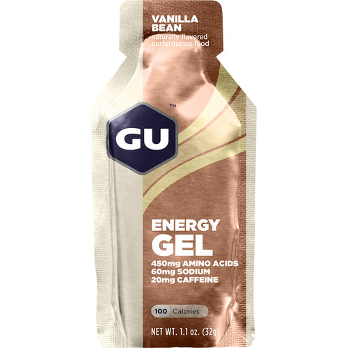 GU Energy Labs Gel (24-Pack, Vanilla Bean)