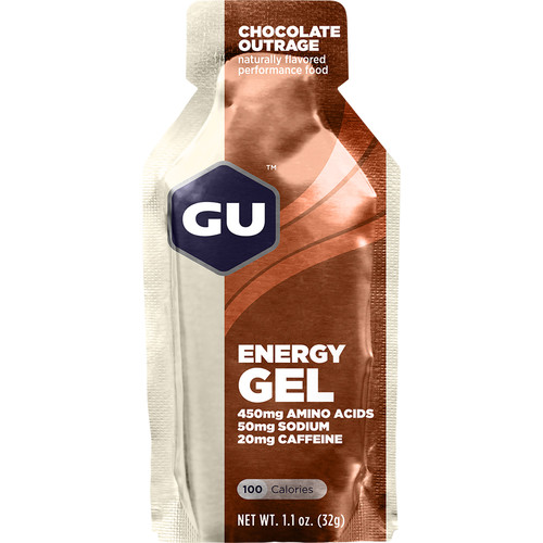 GU Energy Labs Gel (24-Pack, Chocolate Outrage)