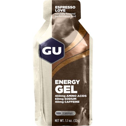 GU Energy Labs Gel (24-Pack, Espresso Love)